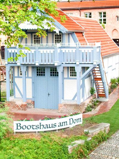 SUP Safari Brandenburg Standort Bootshaus am Dom zu Brandenburg