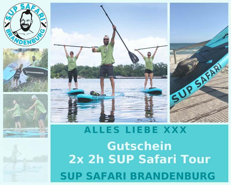 Beispielgutschein SUP Safari Brandenburg